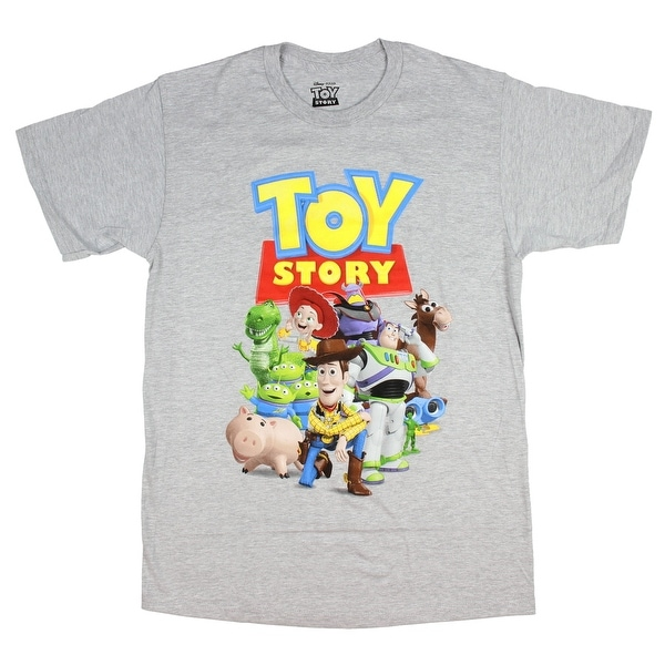 c834f492b1cb9e Shop Disney Pixar Men's Toy Story Character T-Shirt - Free Shipping On  Orders Over $45 - Overstock - 22844063