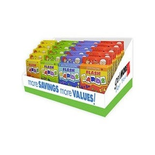 Jumbo Flash Cards 44 Per Countertop Display - PDQ Case Of 44