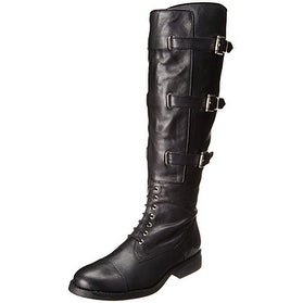 Vince Camuto Womens Fenton Leather Cap Toe Knee High Fashion Boots