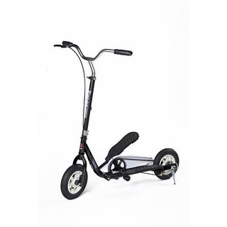Ped-Run Teens PRT-BK Teens Pedaling Scooter, Black