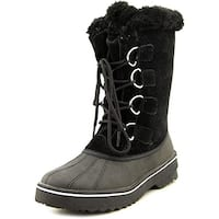 Style & Co. Womens MIKKEY Suede Closed Toe Mid-Calf Cold Weather Boots