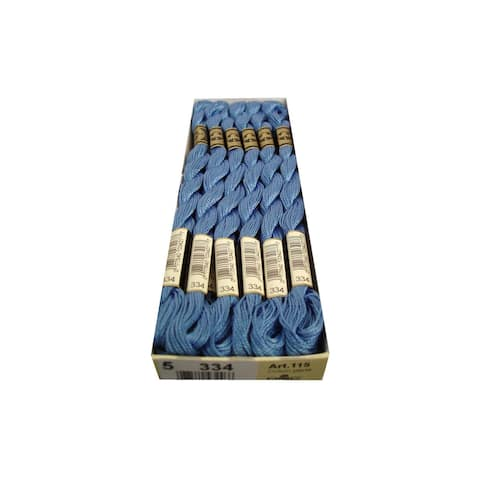 115 5 334 dmc pearl cotton skein sz 5 334