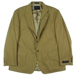 Nautica Mens Two-Button Blazer Twill Textured - 42s