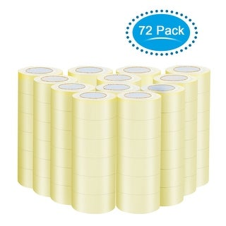 """Gymax 72 Rolls Clear Carton Box Shipping Packing Package Tape 1.9""""x110 Yards (330 ft)"""