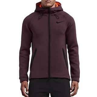 Nike NEW Red Mens 2XL Dri Fit Therma Sphere Full Zip Training Jacket