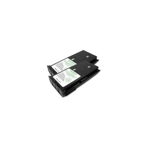 Battery for Kenwood KNB14 NCAD (2-Pack) 2-Way Radio Battery