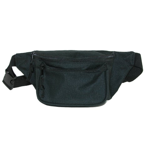 CTM® Three Pocket Waist Pack