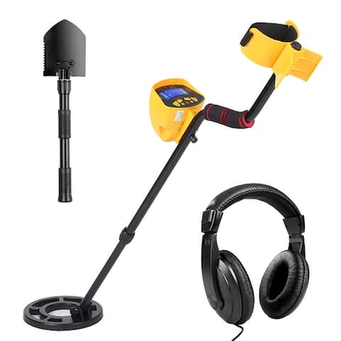 Oxkers MD3010II Metal Detector Underground Search Portable LCD Automatic Detector Metal Digger Hunter