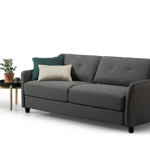 Praige by ZINUS Dark Grey Upholstered Sofa
