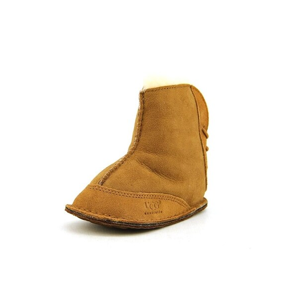 Ugg Australia I Boo Infant Round Toe Suede Tan Winter Boot