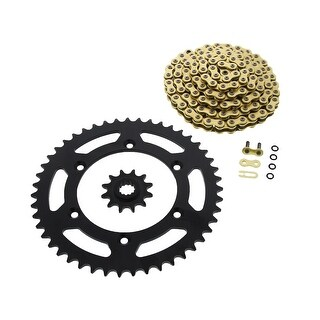 CZ ORHG X-Ring Chain and Black Sprocket Suzuki RM250 1990 - 2008 12/47 114L