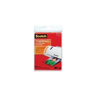 3M TP5903-20 5.31 Inch X 7.28 Inch Laminating Pouches Laminating Pouches