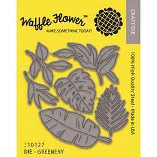 Greenery - Waffle Flower Die