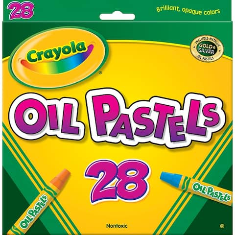 Crayola crayola oil pastels 28 color set 524628