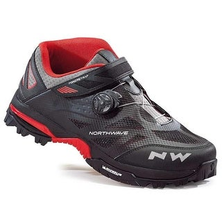 Northwave Enduro Mid All Mountain Cycling Shoes - Black/Red