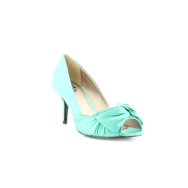 Luichiny Best One Yet Women's Heels Aqua