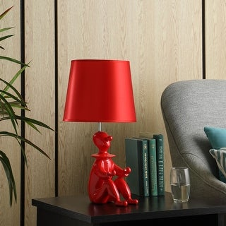 """Link to 21.25"""" in Red Modern Clown Phone Resin Table Lamp Similar Items in Table Lamps"""