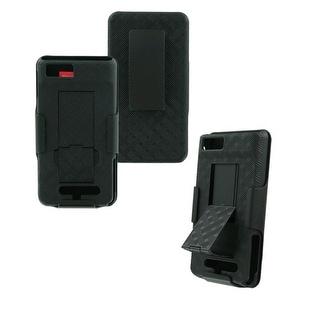 OEM Verizon Motorola Droid X2 MB870 Shell Holster Combo w/ Kickstand (Black) (Bu