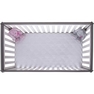 Link to Grand Toddler fitted Crib Mattress Pad Cover Similar Items in Mattress Pads