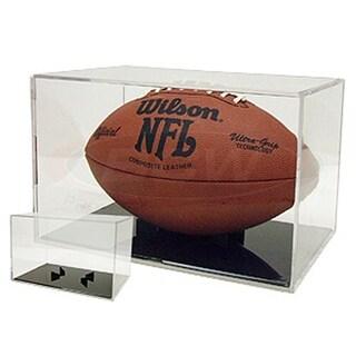 BallQube Grandstand Football Holder Cube Display Case