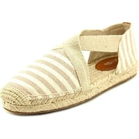 MICHAEL Michael Kors Womens Dana Fabric Closed Toe Casual Espadrille Sandals