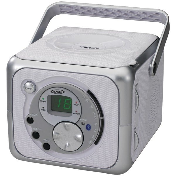 Jensen Cd-555A Portable Bluetooth(R) Music System With Cd Player