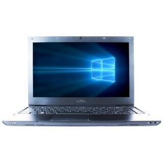 "Refurbished Laptop Dell Latitude 13 13.3"" Intel Core 2 Duo SU7300 1.3GHz 4GB DDR3 320GB Windows 10 Pro 1 Year Warranty - Black"