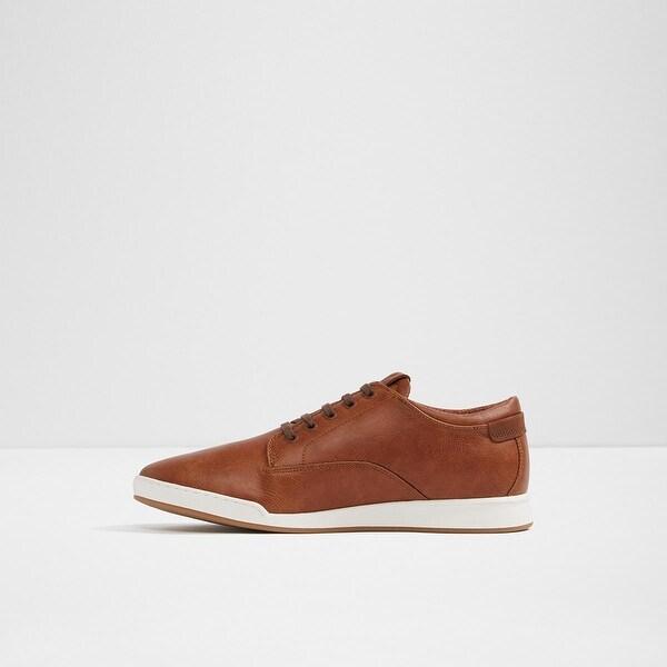 Lace Up Fashion Sneakers, Cognac, Size