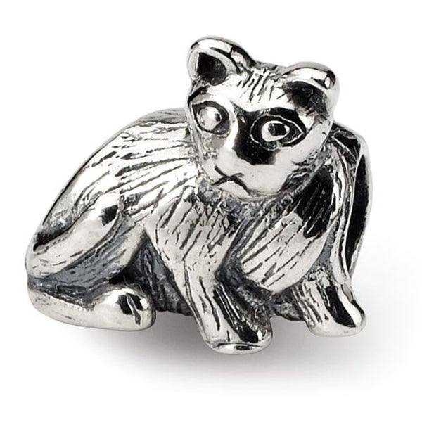 Sterling Silver Reflections Cat Bead (4mm Diameter Hole)