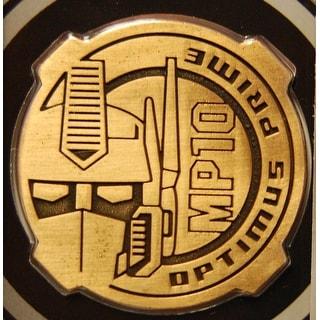 Transformers Masterpiece Mp-10 Optimus Prime Exclusive Collectors Coin