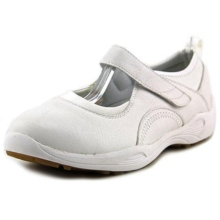 Propet Wash & Wear Slip-On Round Toe Leather Mary Janes