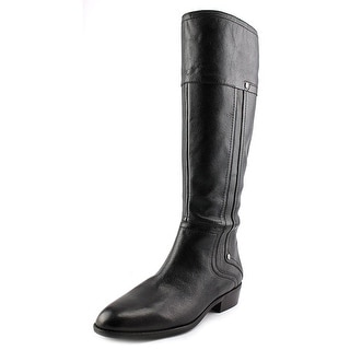 Franco Sarto Sparta Women Round Toe Leather Knee High Boot