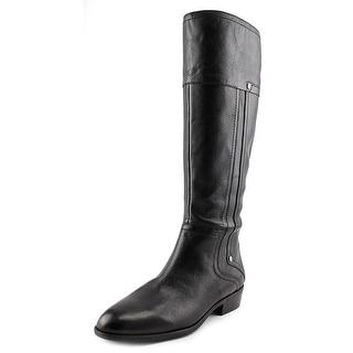 Franco Sarto Sparta Women Round Toe Leather Knee High Boot