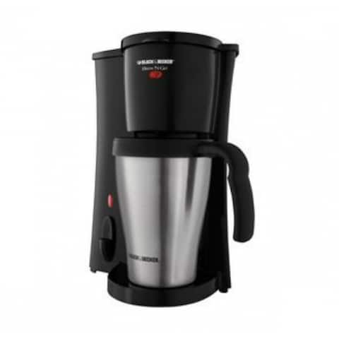 Black & Decker DCM18S Brew 'n Go Personal Coffee Maker, 800 Watt