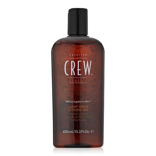 AMERICAN CREW | Light Hold Styling Gel (15.2 fl oz) | Non flaking formula | Alcohol Free