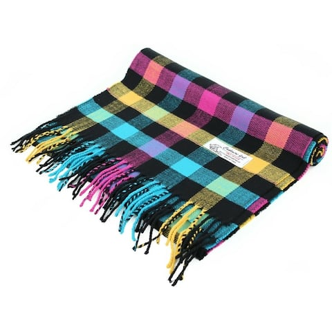"""Super Soft Luxurious Classic Cashmere Feel Winter Scarf - 72""""x12"""" with 3"""" fringes"""