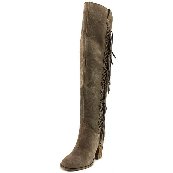 Carlos by Carlos Santana Garrett Women Synthetic Gray Over the Knee Boot