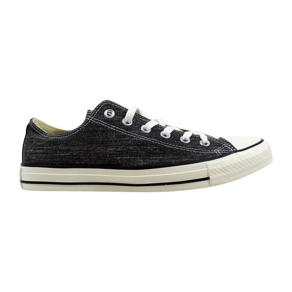 fd277cb2f0919 Shop Converse Men's Chuck Taylor Ox Black Egret/Black Denim 147037F ...