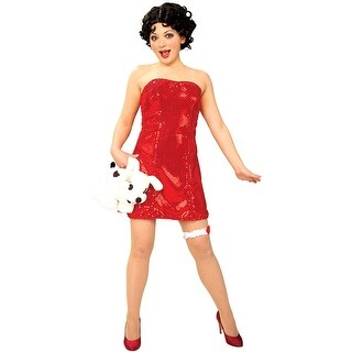 Rubies Classic Betty Boop Adult Costume - Solid