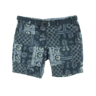 Polo Ralph Lauren Mens Printed Patchwork Casual Shorts