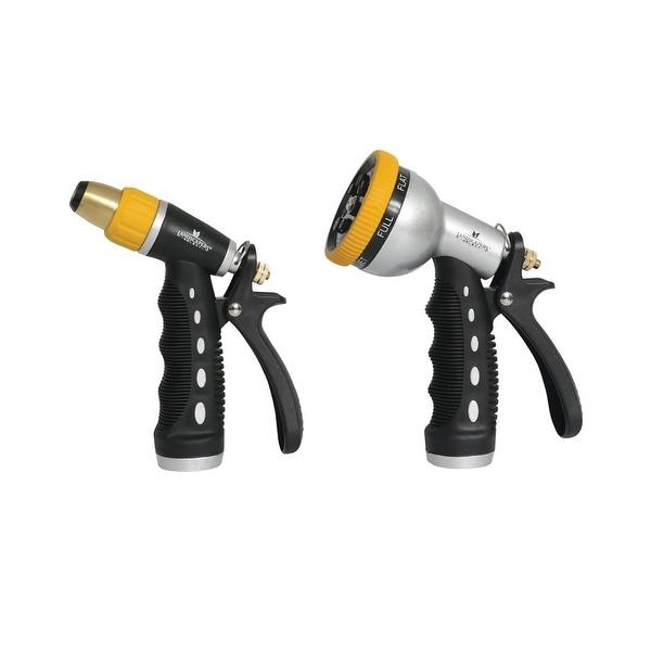 Mintcraft YM7004-2 2-Piece Garden Hose Nozzle Set