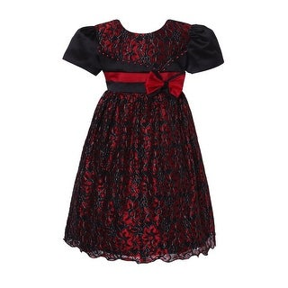 Richie House Girls' Sweet Party Dress