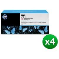 HP 771A 3-Cartridges 775-ml Light Magenta DesignJet Ink Cartridges (B6Y43A) (4-Pack)