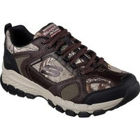57355f037d1 Shop Skechers Men's Work Relaxed Fit Ruffneck Hyvent Camouflage ...