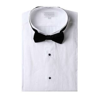 Dress shirts for less for Wing tip collar shirt