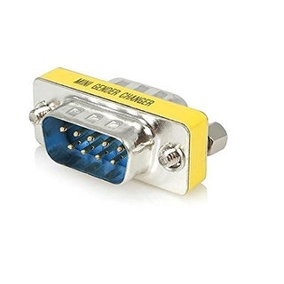 Startech Slimline Serial Db9 Gender Changer - M/M (Gc9sm)