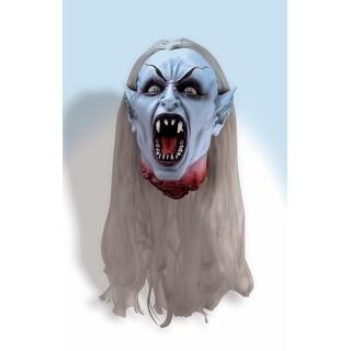 Scary Gothic Vampire Head Halloween Prop