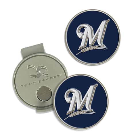 Milwaukee Brewers Hat Clip & Ball Markers