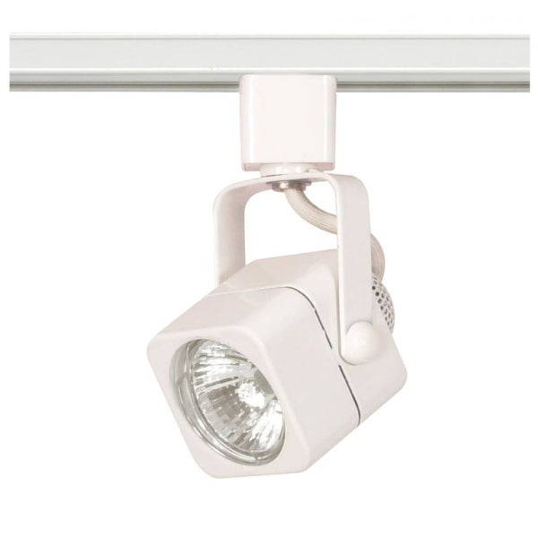 "Nuvo Lighting TH312 1-Light 3-1/4"" High H-Track Track Head - White - N/A"
