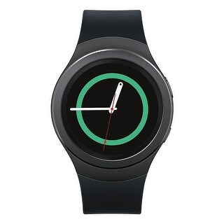 Samsung Gear S2 Smartwatch (Dark Gray) - grey